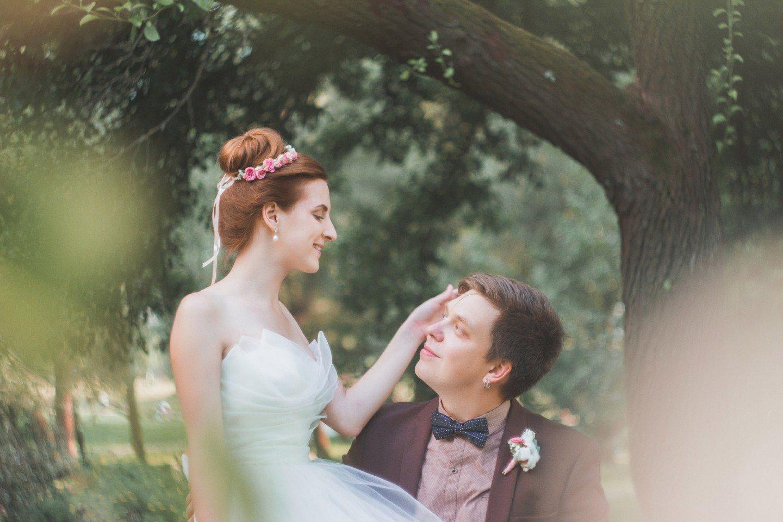 Воздушная легкость: свадебная съемка Александра и Александры
