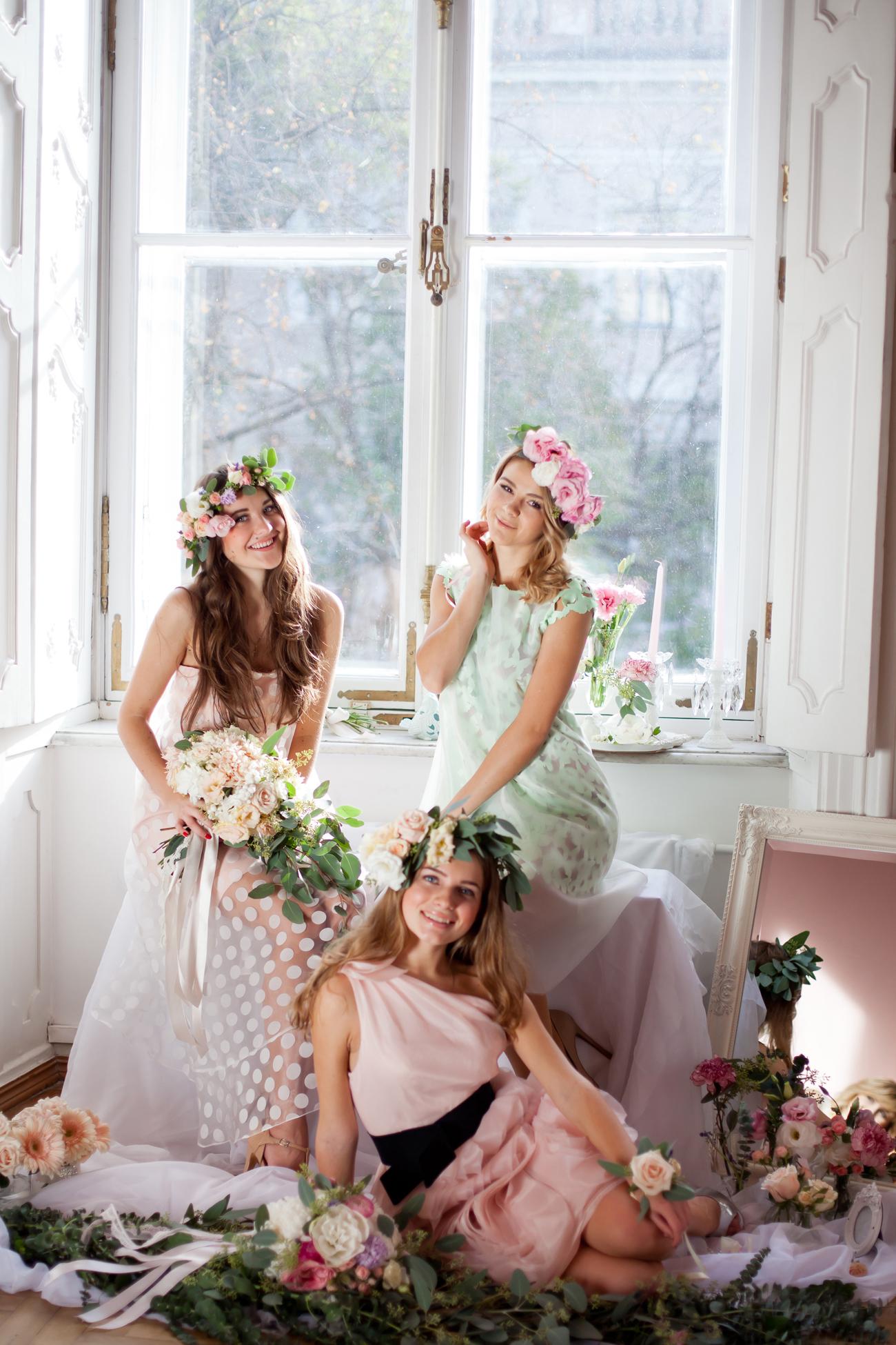 Floral November: стилизованная съемка