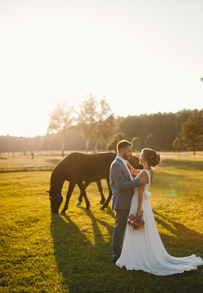 Сиреневые облака: свадьба Леры и Жени
