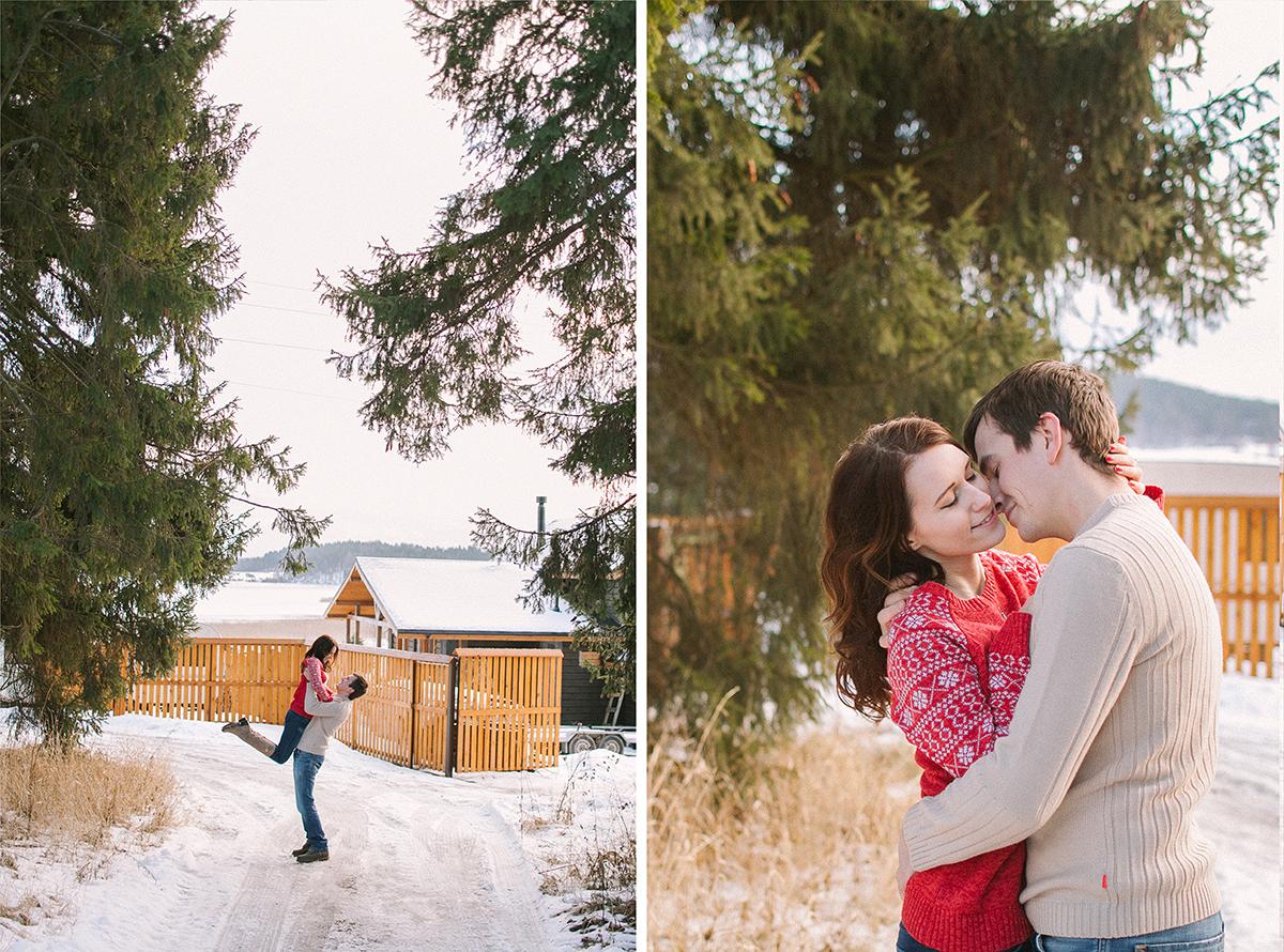 Скандинавская сказка: love-story Николая и Оксаны