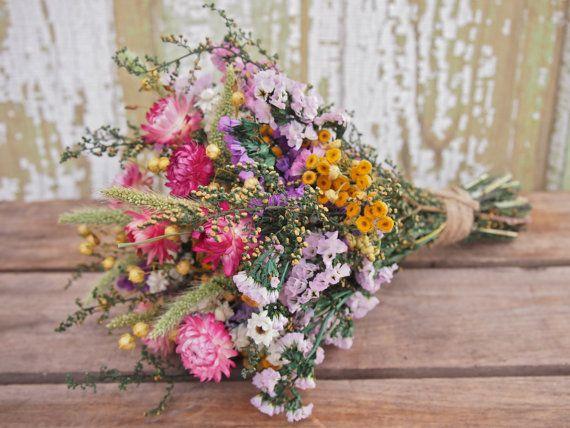 Rustik svadba buket nevesty (81)