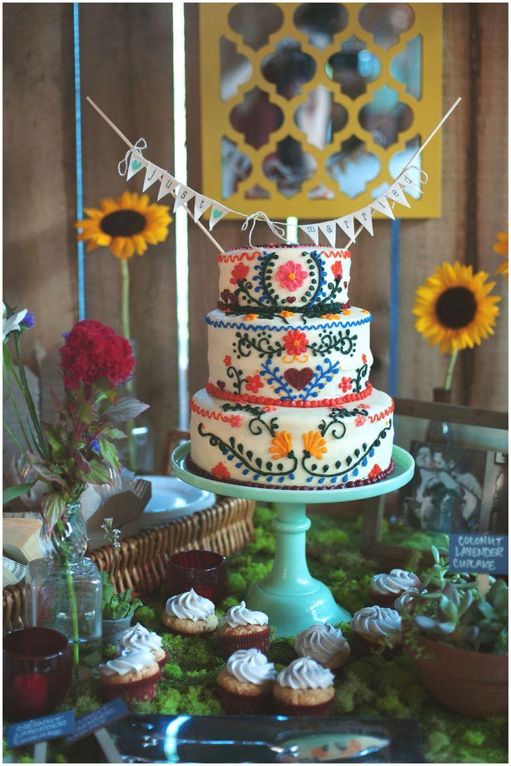 Stil svadby boho - dekor (104)