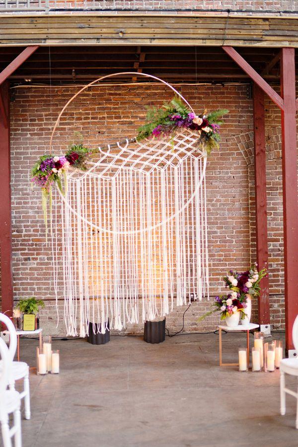 Stil svadby boho - dekor (108)