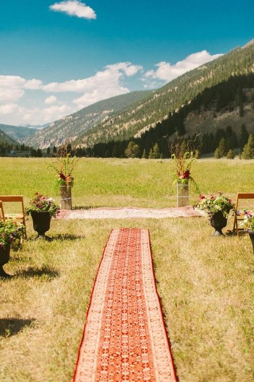 Stil svadby boho - dekor (139)
