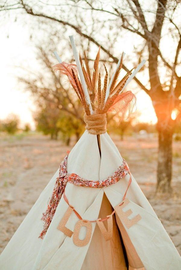 Stil svadby boho - dekor (163)