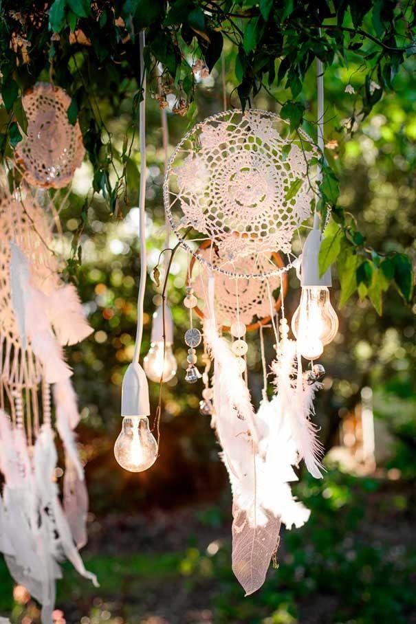 Stil svadby boho - dekor (72)