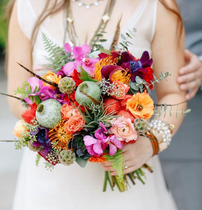 Stil svadby - boho floristika (50)