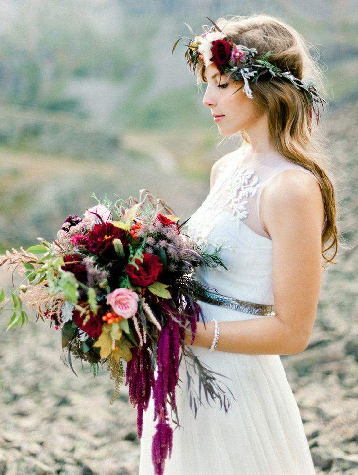 Stil svadby - boho floristika (63)