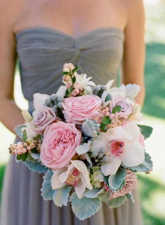 Stil svadby glamour buket nevesty (63)