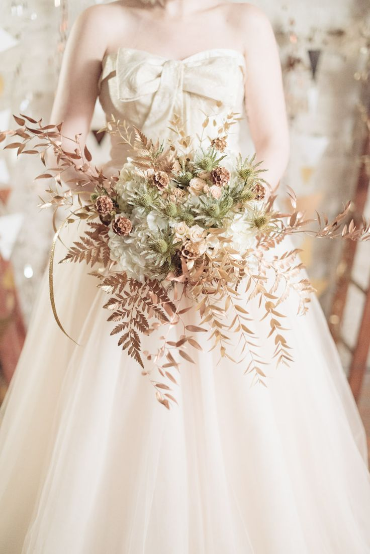 Stil svadby glamour buket nevesty (64)