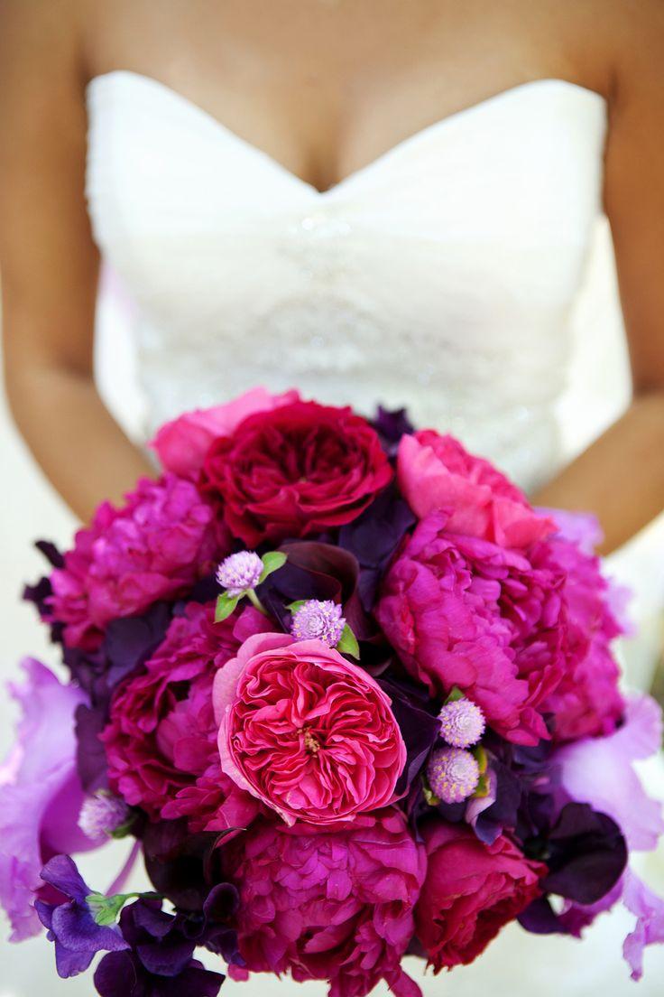 Stil svadby glamour buket nevesty (65)