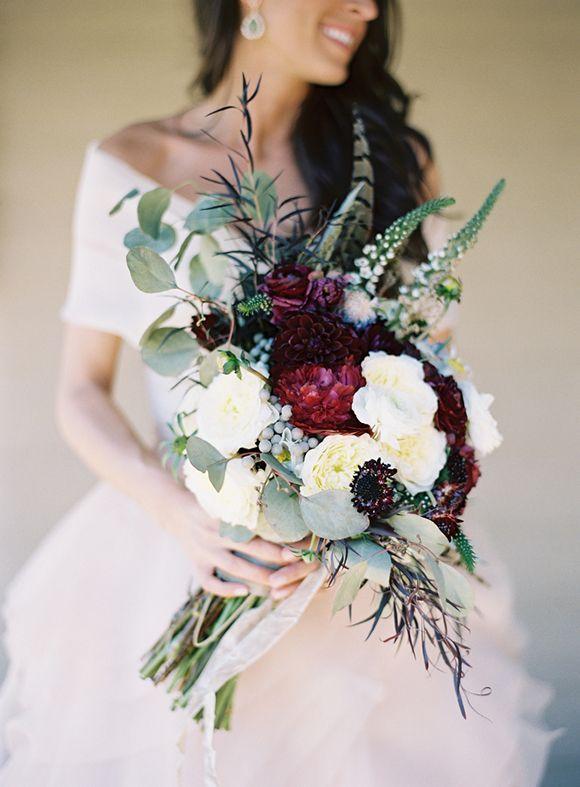 Stil svadby glamour buket nevesty (66)