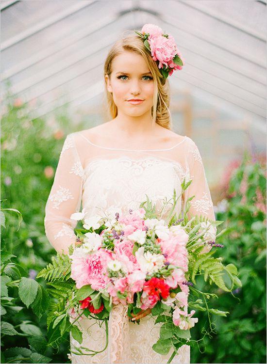 Stil svadby romantichnyi  buket nevesty (122)
