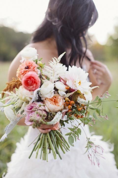 Stil svadby romantichnyi  buket nevesty (18)