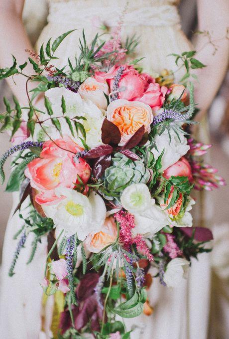 Stil svadby romantichnyi  buket nevesty (8)