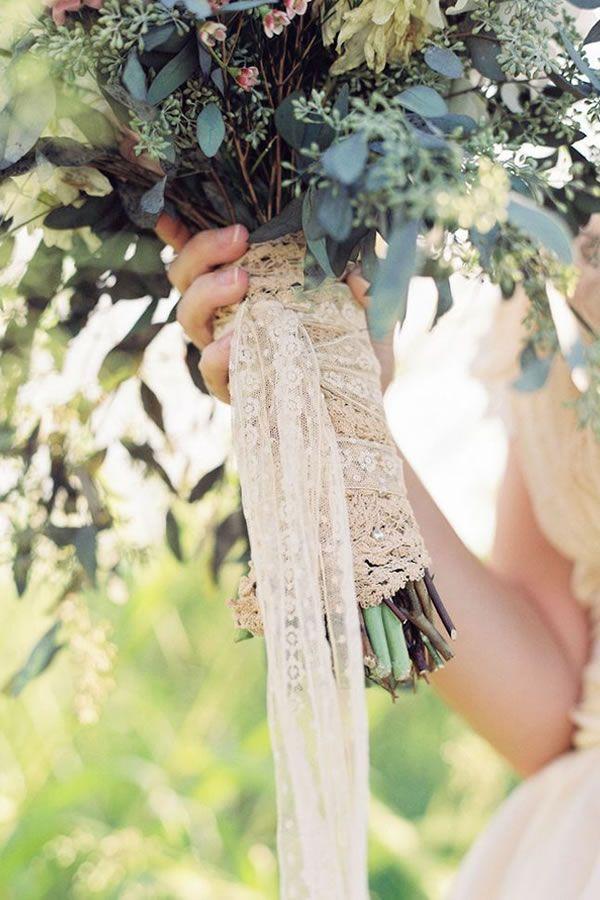 Stil svadby vintag buket nevesty (116)