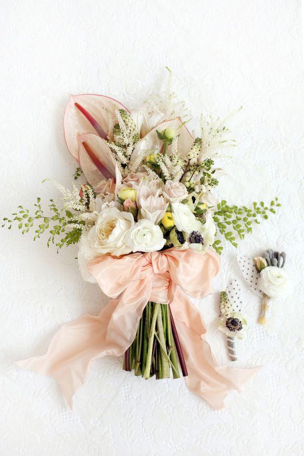 Stil svadby vintag buket nevesty (118)