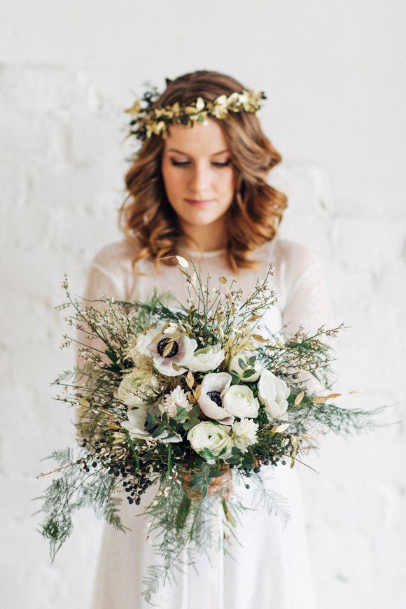 Stil svadby vintag buket nevesty (119)