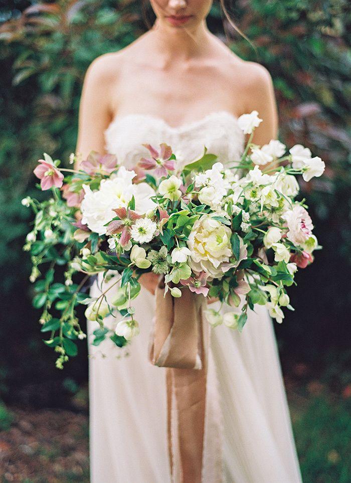 Stil svadby vintag buket nevesty (121)