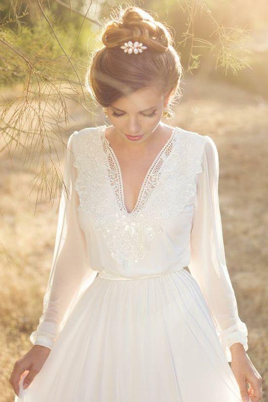 Stil svadby vintag platie nevesty (105)