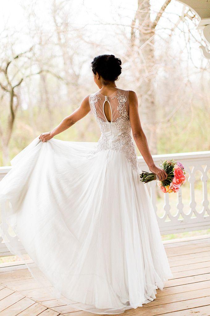 Stil svadby vintag platie nevesty (5)