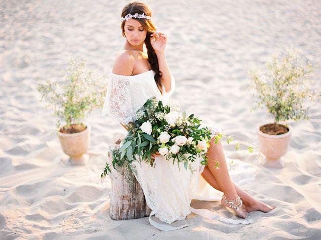 Stil svady boho - nevesta (90)