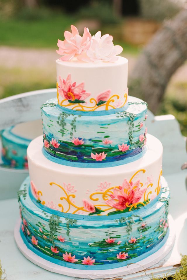 Svadba vesnoi - tort (56)