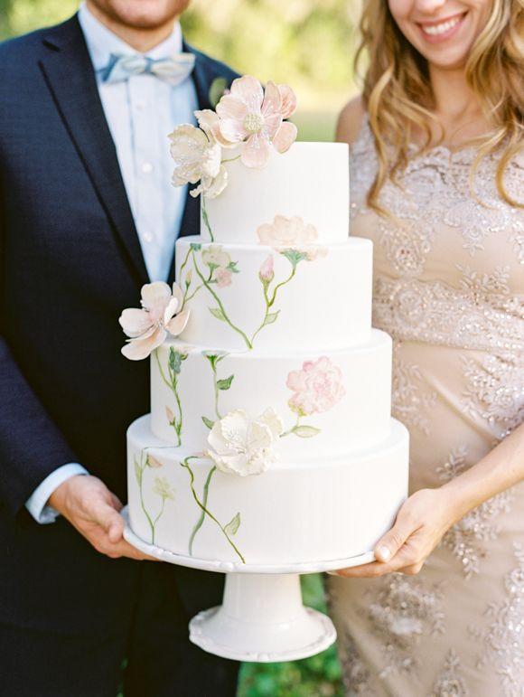Svadba vesnoi - tort