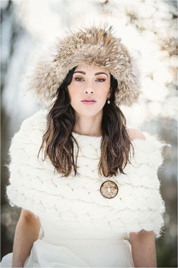 Svadba zimoi - obraz nevesty (38)