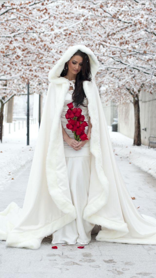 Svadba zimoi - obraz nevesty (45)