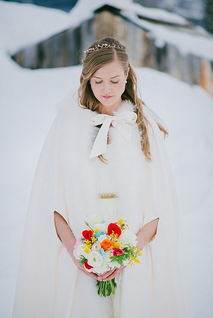 Svadba zimoi - obraz nevesty (77)