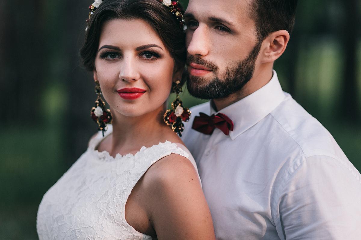 Поцелуй страсти: стилизованная съемка