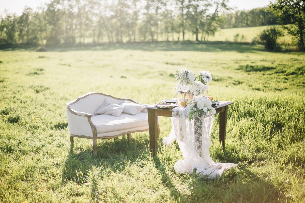 День наедине с природой: годовщина Татьяны и Александра