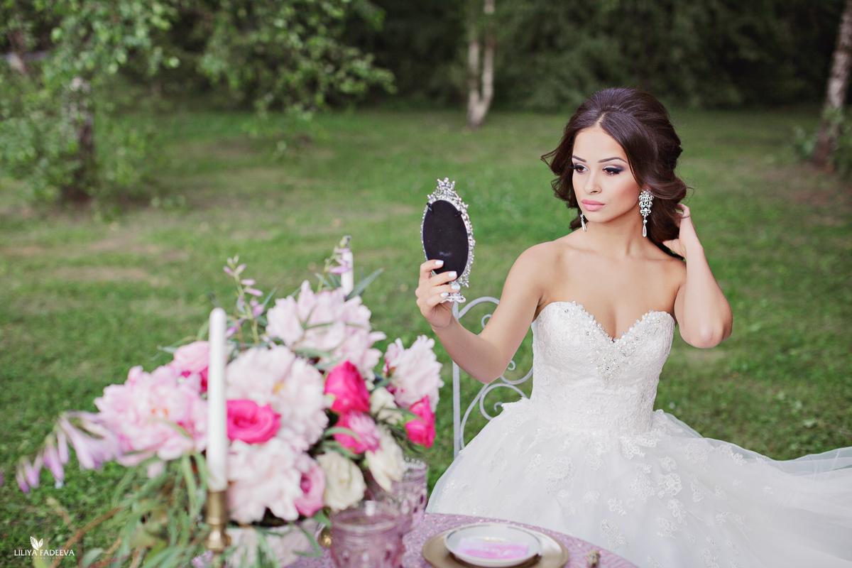 Blooming love: стилизованная съемка Алины и Нодара