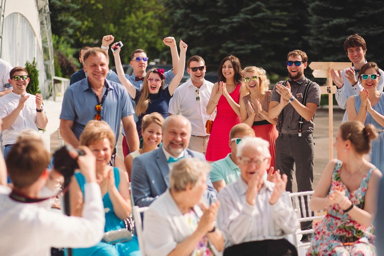 Солнечный день Волковых: свадьба Леши и Кати