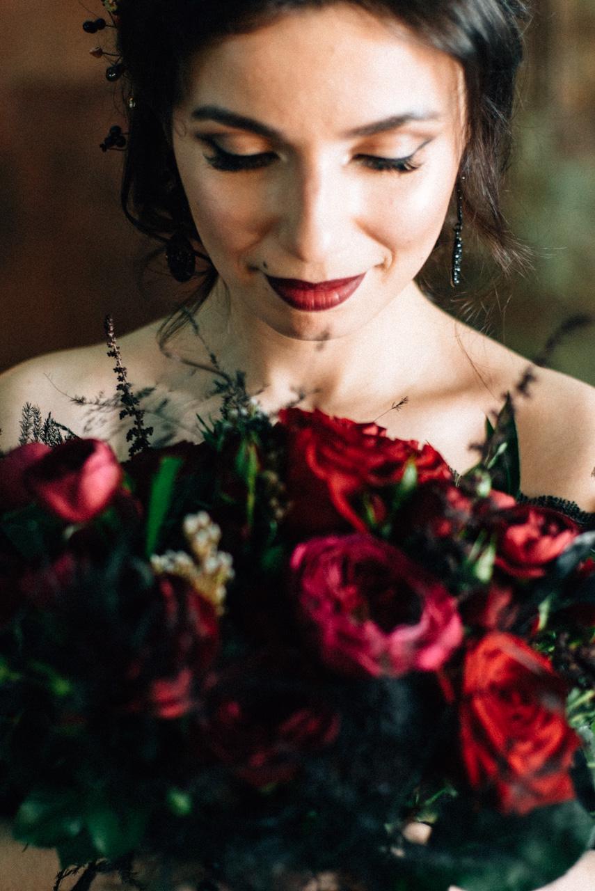 Halloween Wedding: фотосессия Руслана и Алены