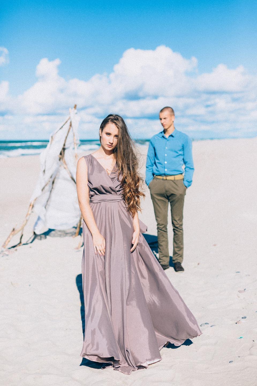 Балтийский ветер: стилизованная съемка