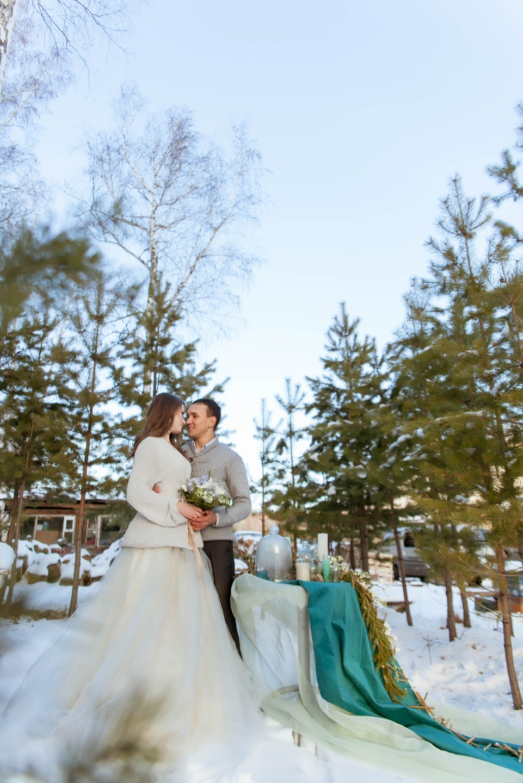 В молчаливом лесу: фотосессия Анны и Дмитрия