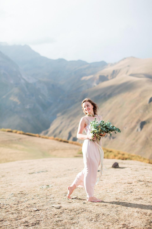 Дыхание гор: стилизованная фотосессия