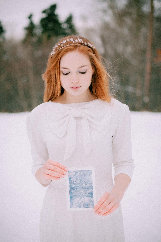 Лето посреди зимы: стилизованная фотосессия