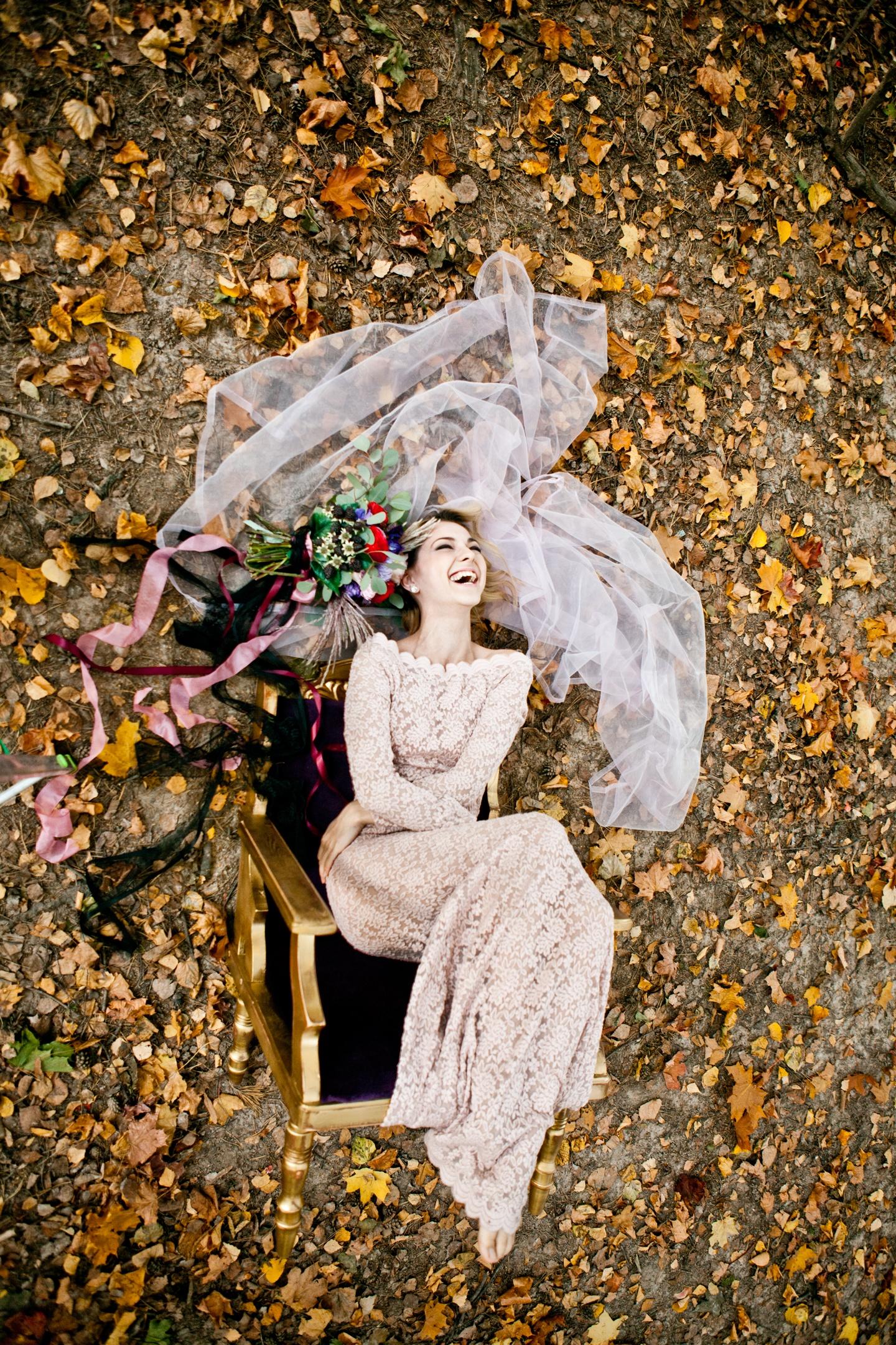 Ежевичная осень: стилизованная фотосессия