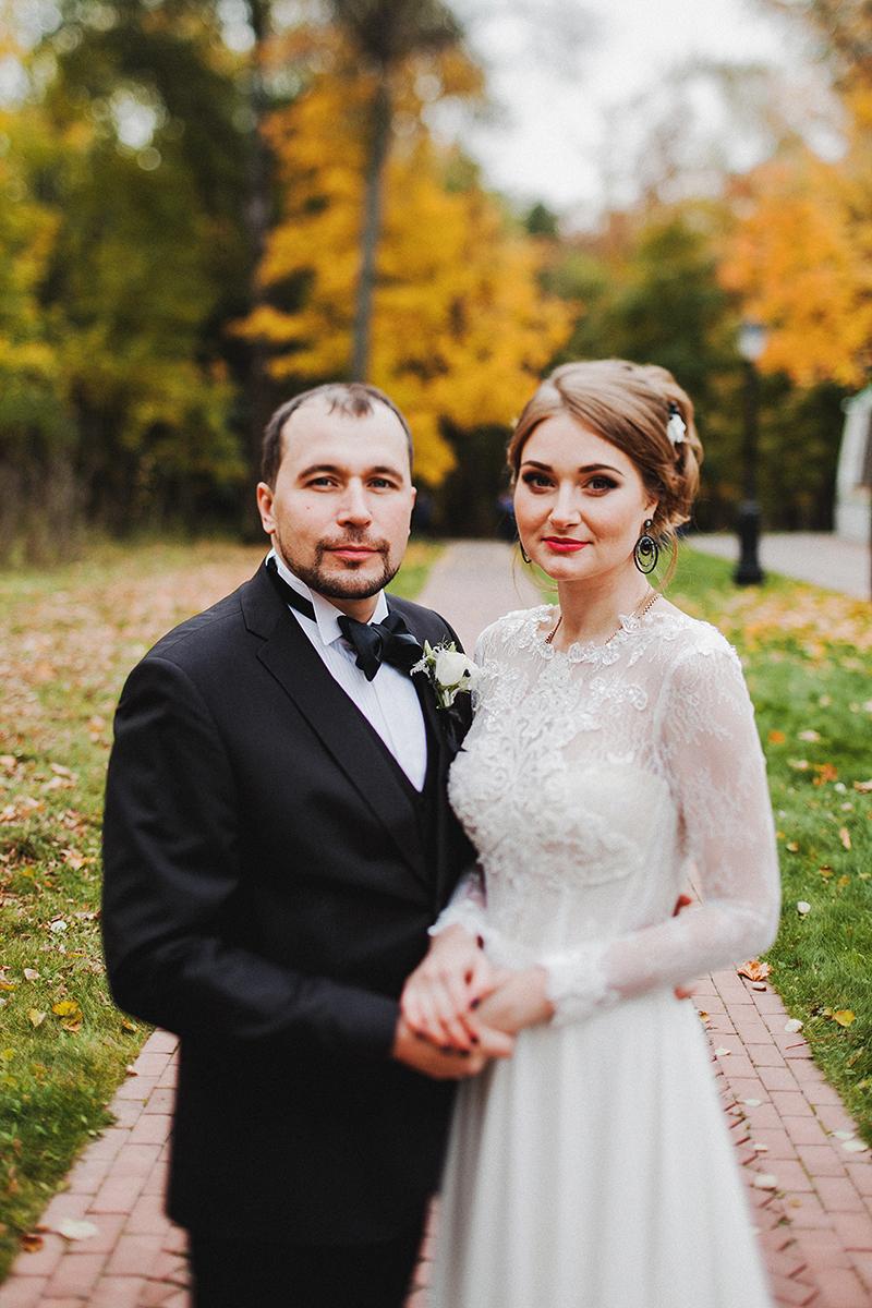 Белая кошка, черный кот: свадьба Игоря и Евгении