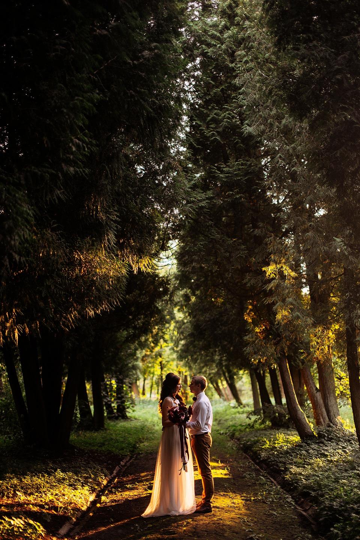 Накануне осени: стилизованная фотосессия Марии и Владимира