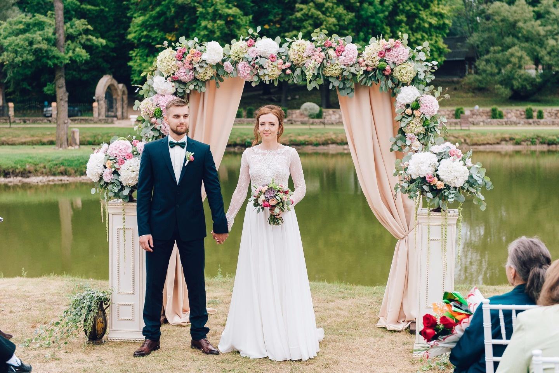 В разгар лета: свадьба Александра и Вероники
