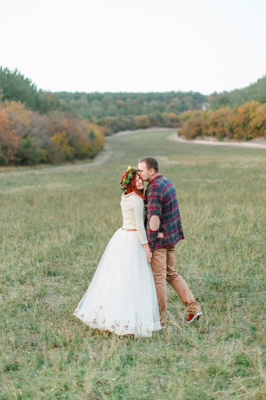 Осенние краски: свадьба Анастасии и Дмитрия