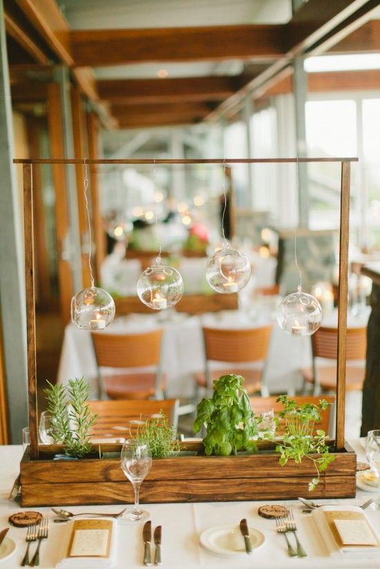 Детали свадьбы: центральные композиции