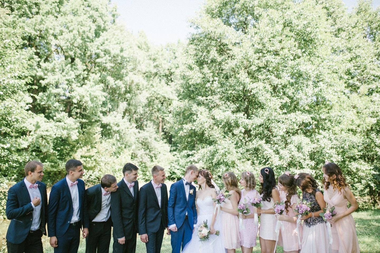 Воздушная легкость: свадьба Павла и Кристины