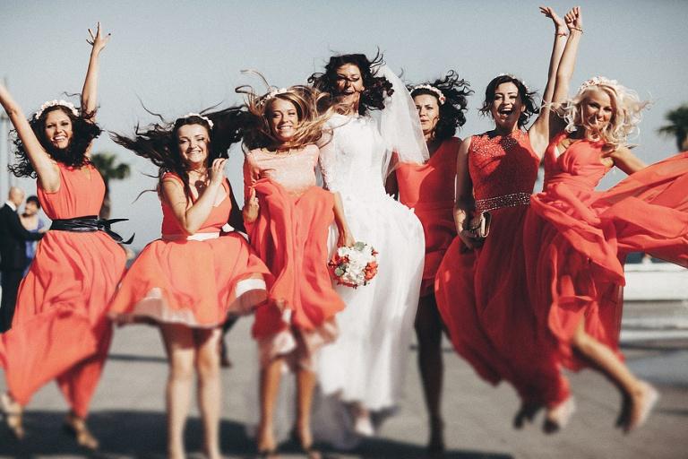 Кого пригласить на свадьбу - Подружки невесты