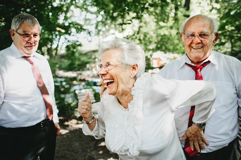 Кого пригласить на свадьбу - Пожилая пара