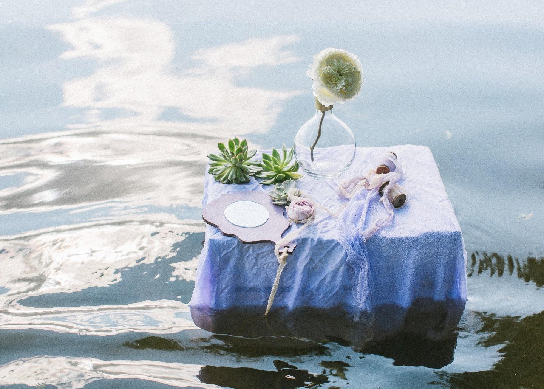 Прекрасная русалка: стилизованная фотосессия